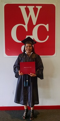 LermaParker-2014-AAUW-Fort-BendScholarship-recipient at graduation