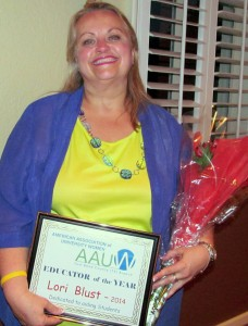 Fort Bend AAUW 2014 Educator of Year - Lori Blust