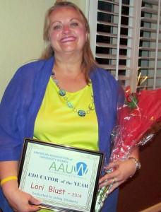 Fort Bend AAUW 2014 Educator of Year - Lori Blust